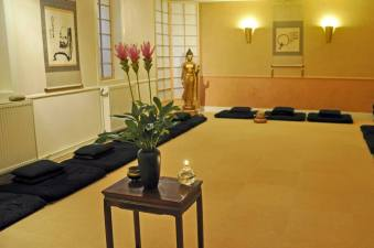 zendo met Boeddha